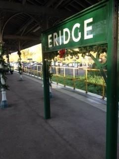 Eridge Station has got the Christmas spirit already