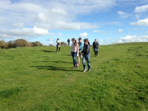 Eco-group visit to South Downs Way at Southease