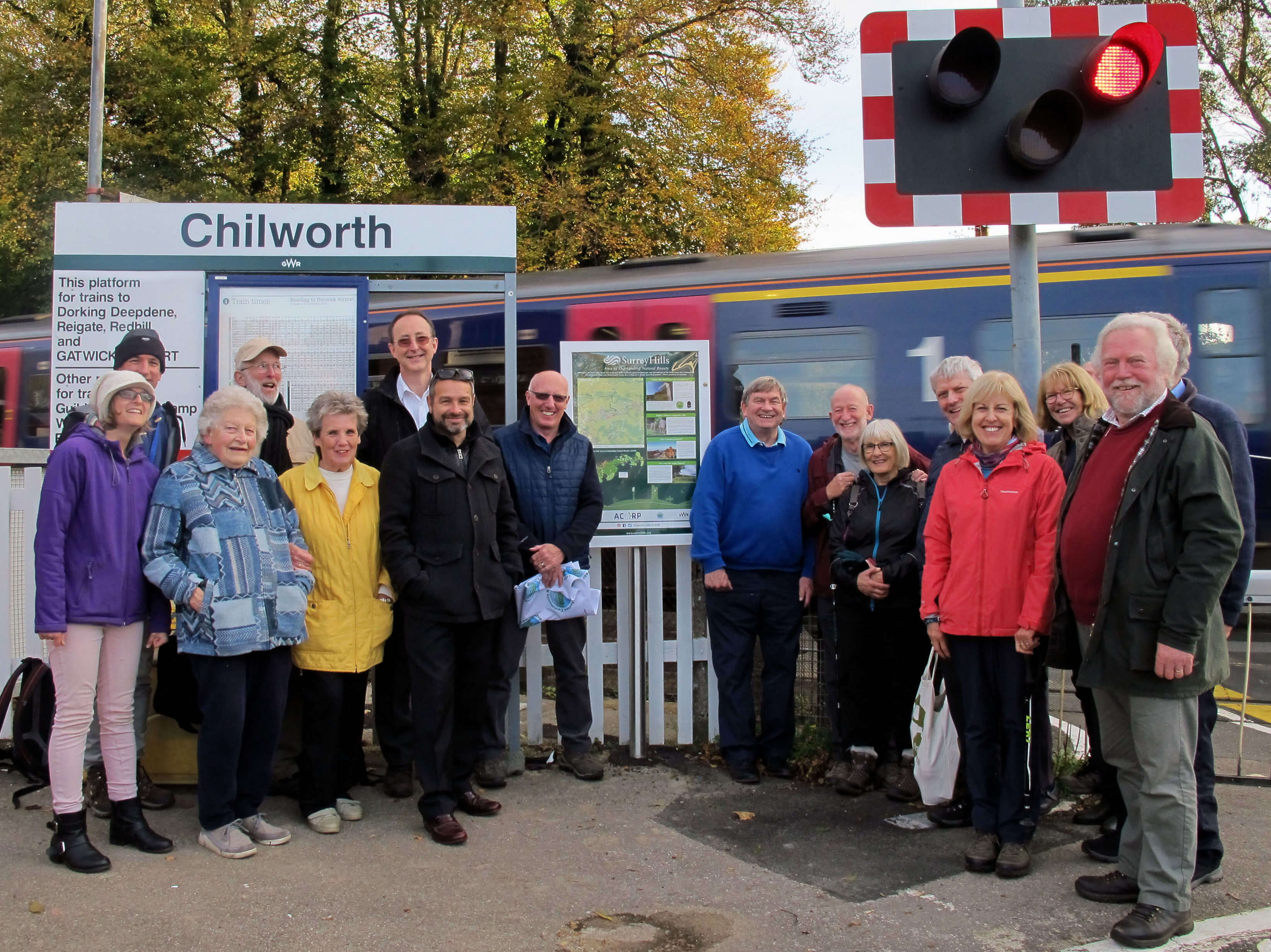 North Downs Way signage Chilworth