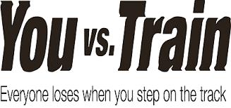 British Transport Police – You vs. Train – trespass prevention campaign