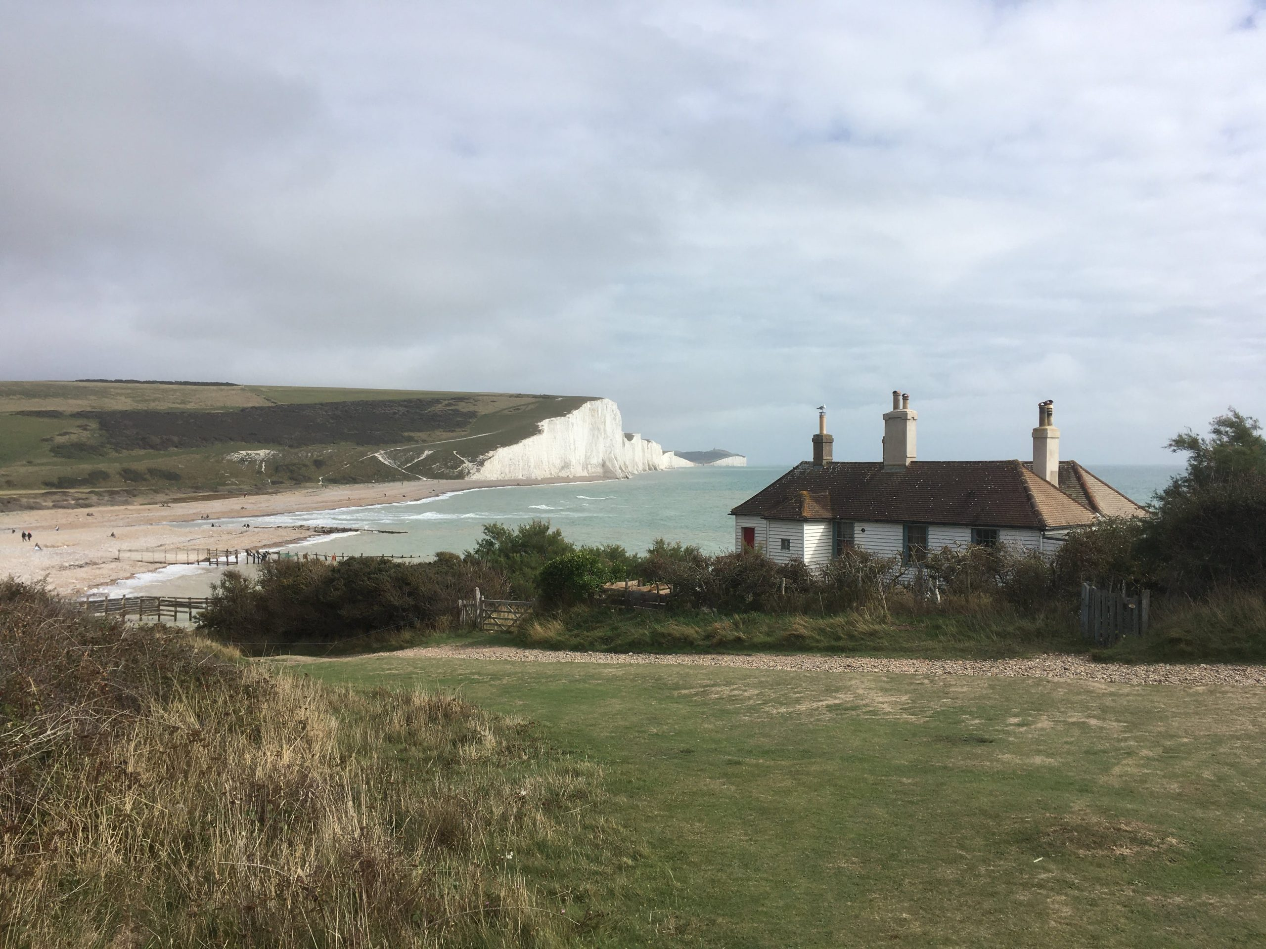 Sustainable Holidays on the Seaford to Brighton Line
