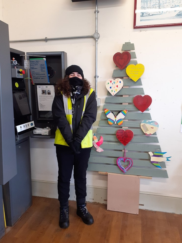 Valentine Hearts for Angmering Station