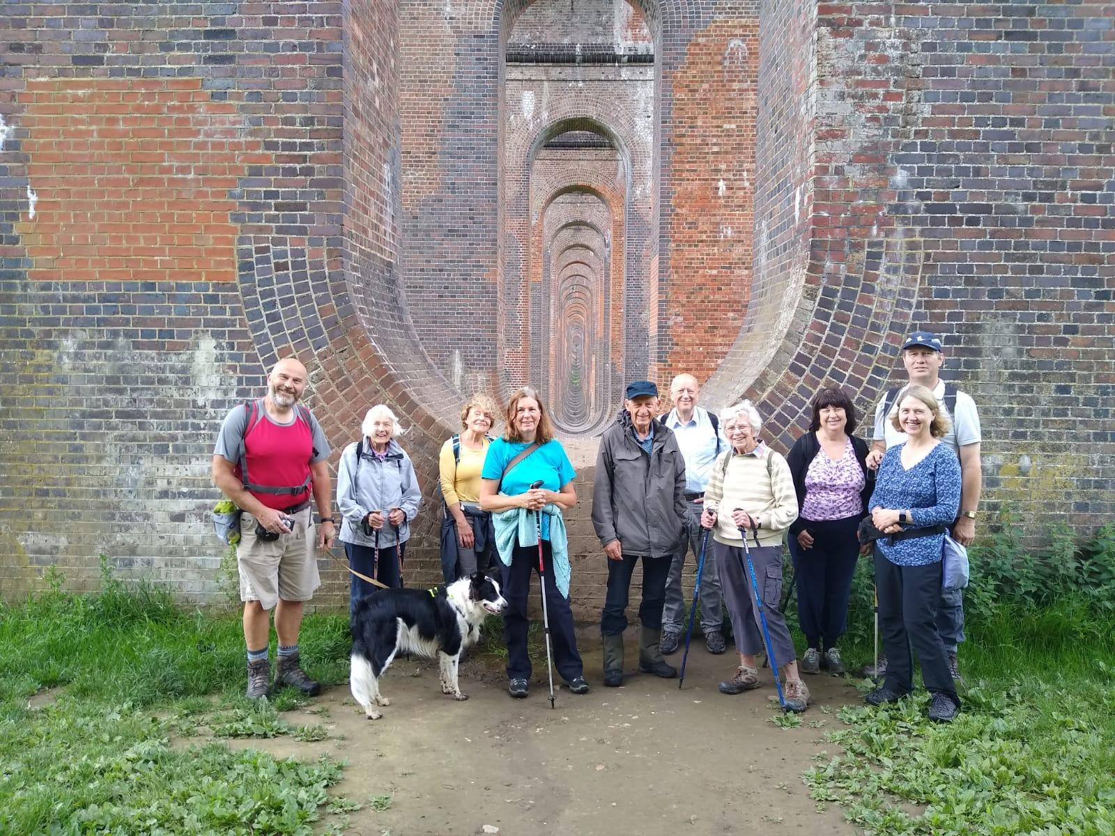 Glynde to Lewes self guided walk