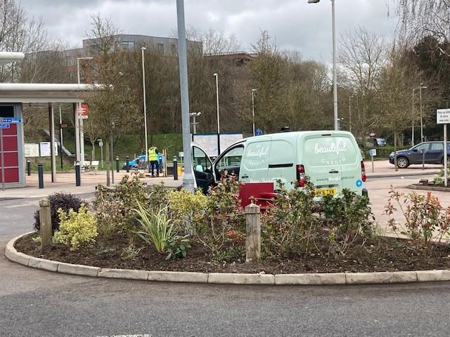 East Grinstead station gardens make-over completed