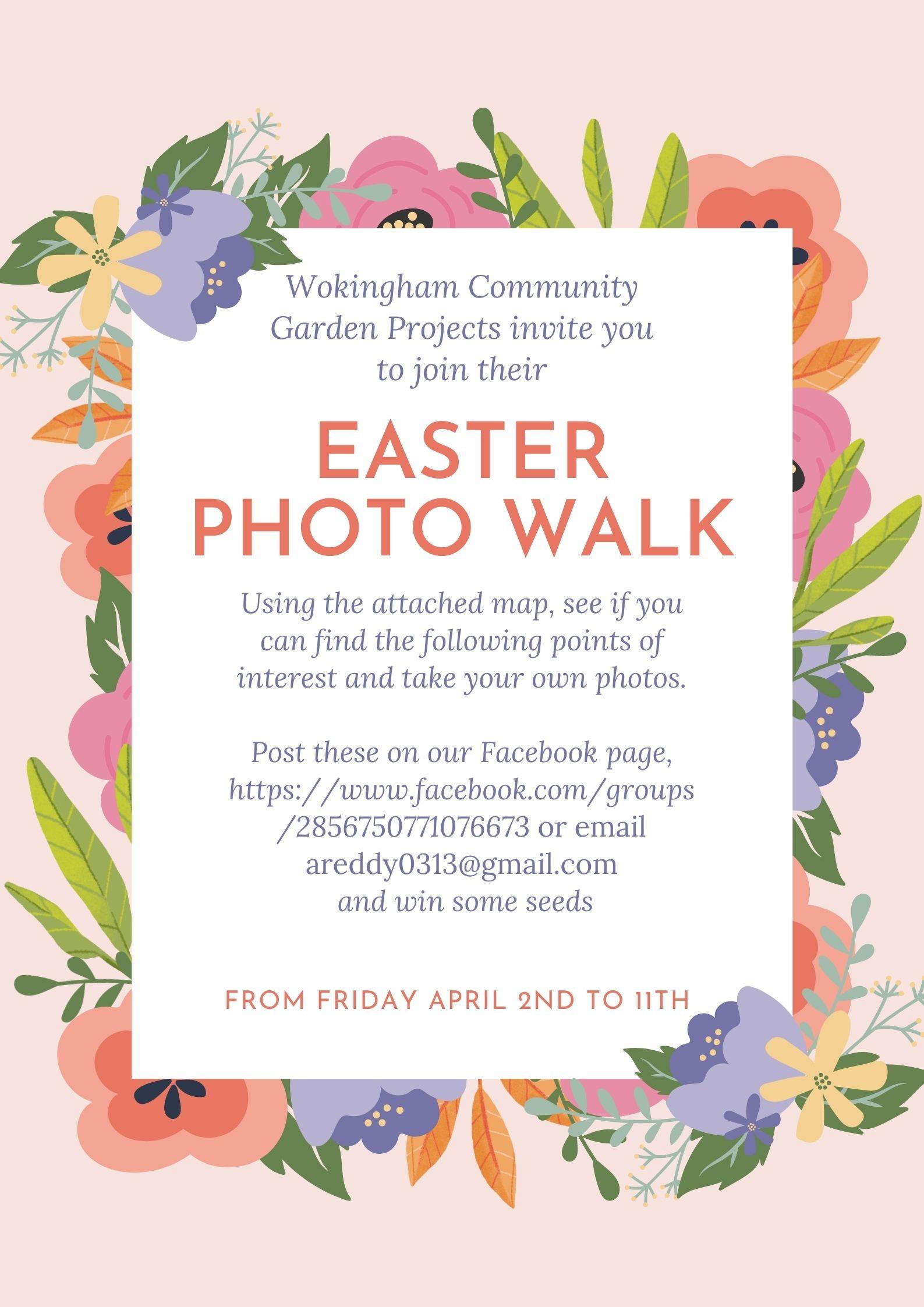 Easter Photo Walk around Winnersh Meadows
