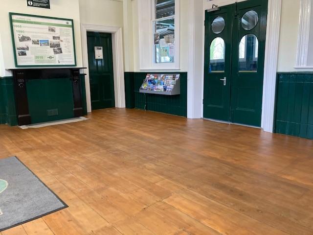 Eridge station – the improvements go on and on . . . . . . .