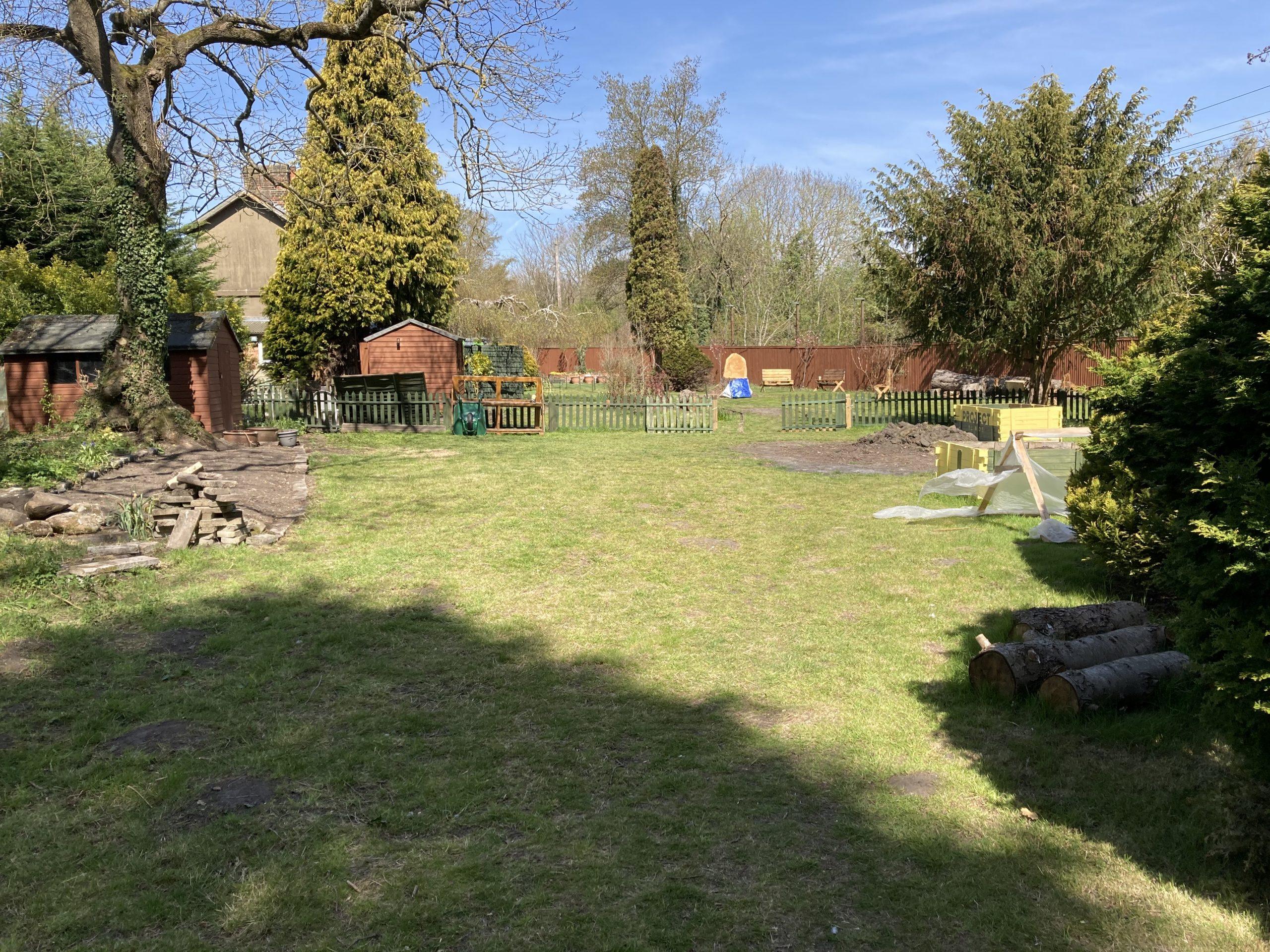 Spring has sprung in Reg's Garden