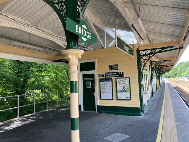 Today at Eridge station