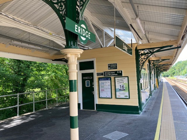 Rotherfield Parish Council formally becomes an active partner to Eridge station