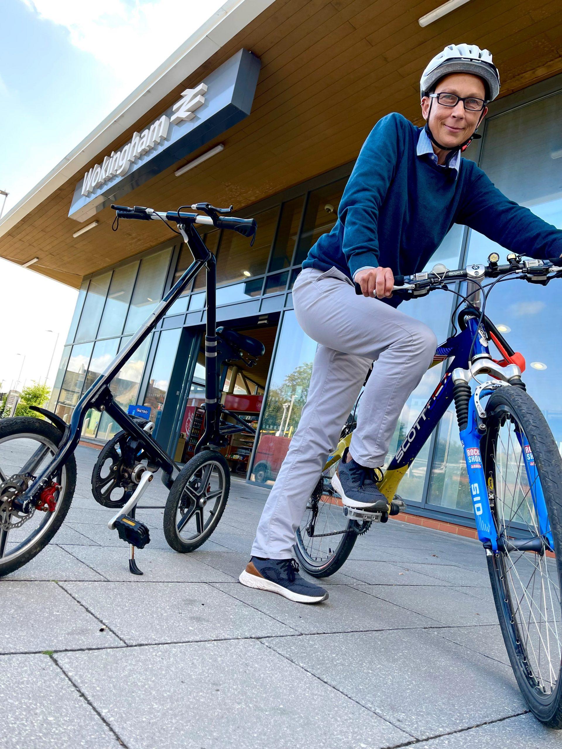 Dr Bike is at Wokingham Station!