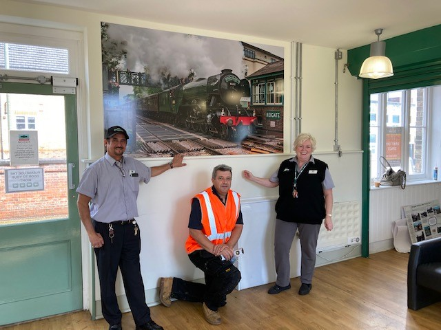 Reigate station gallery