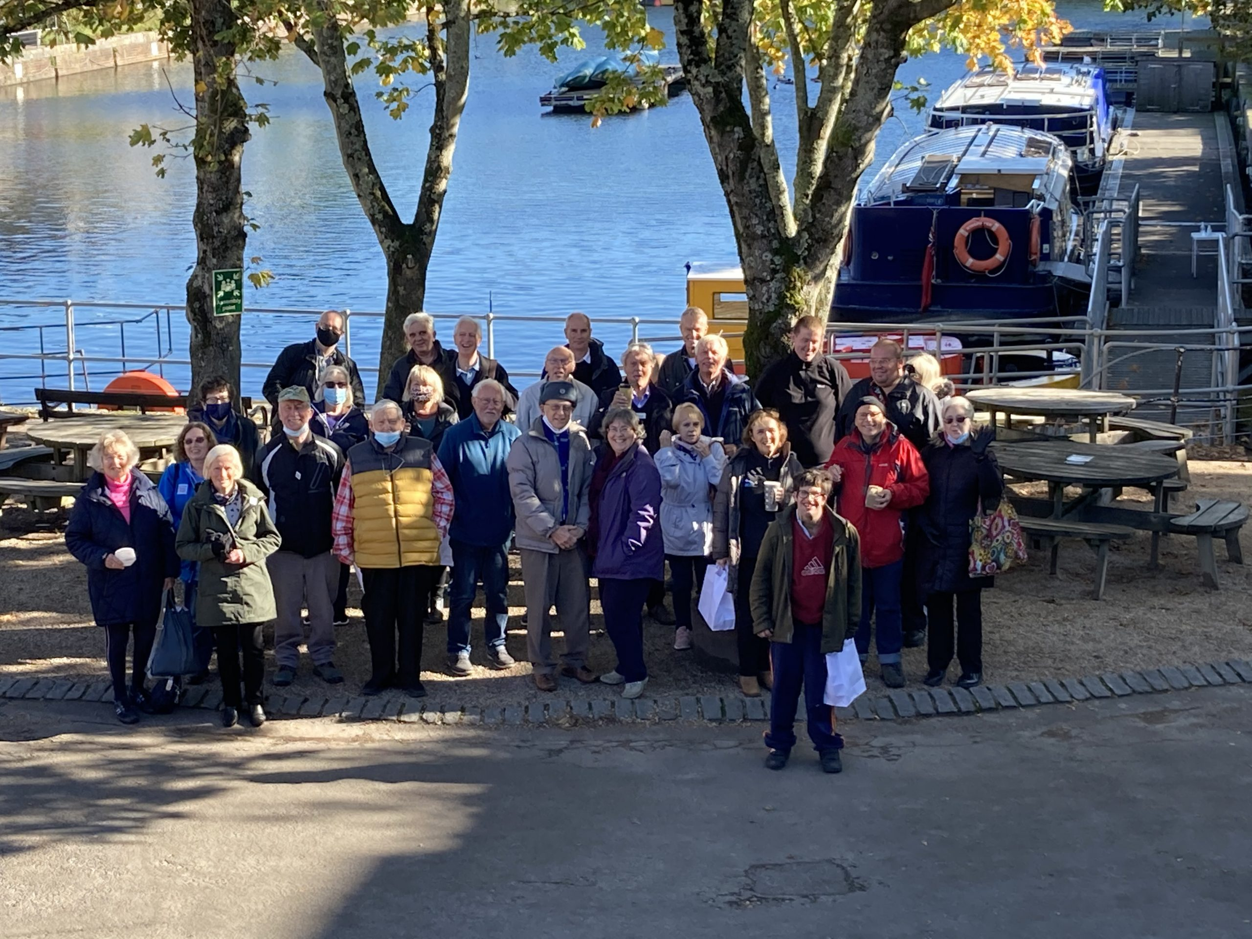 SCRP thanks volunteers and partners with a day out on the canal